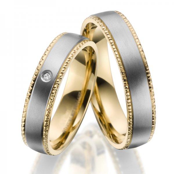 Titanové snubní prsteny SP-TI-041