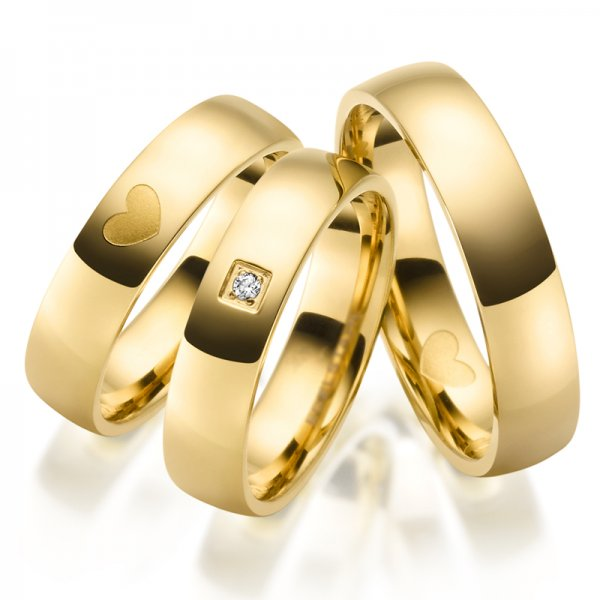 Ocelové snubní prsteny SP-ES-030