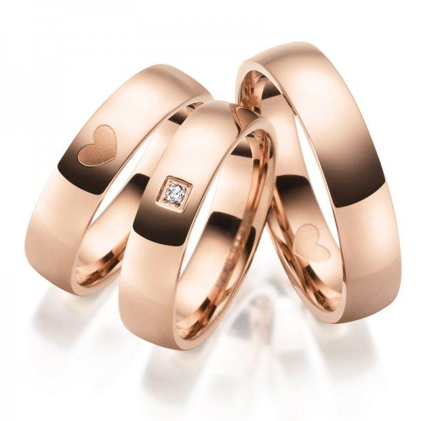 Ocelové snubní prsteny SP-ES-031