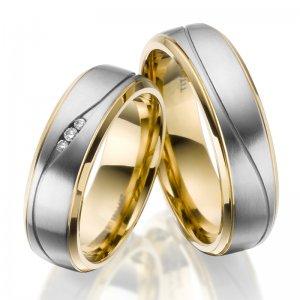 Titanové snubní prsteny SP-TI-050