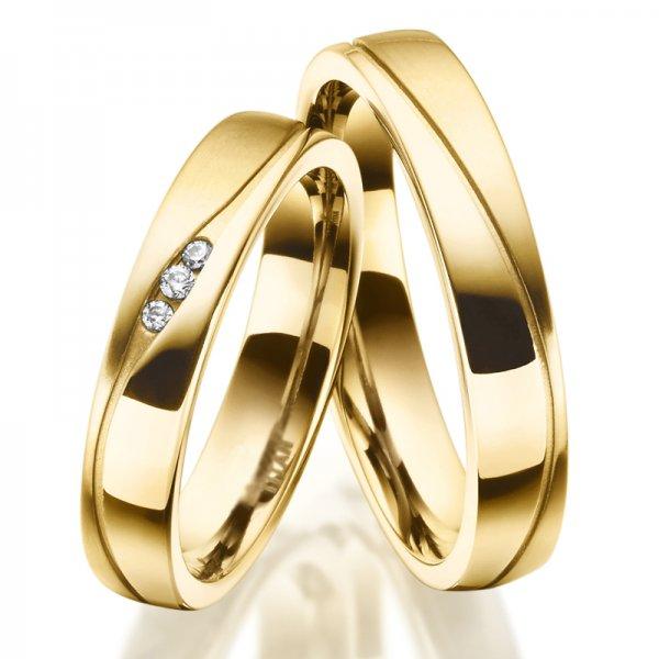 Titanové snubní prsteny SP-TI-035