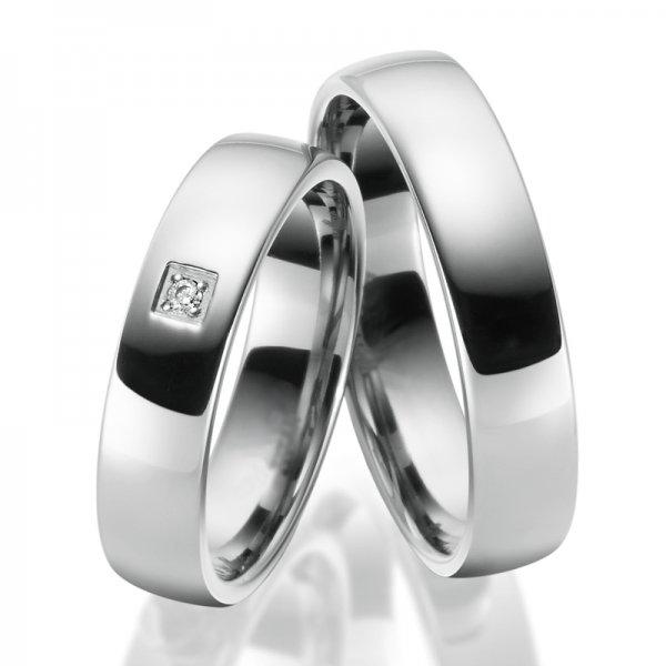 Titanové snubní prsteny SP-TI-030