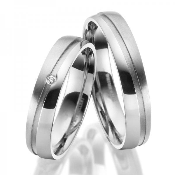 Titanové snubní prsteny SP-TI-046