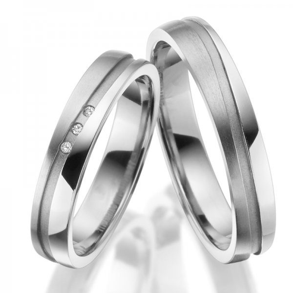 Titanové snubní prsteny SP-TI-043