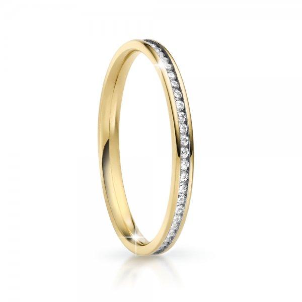 Snubní prsten se zirkony ke skládání SP-NS-05