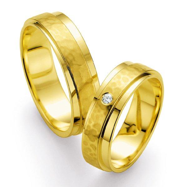 Snubní prsteny s diamantem SP-510