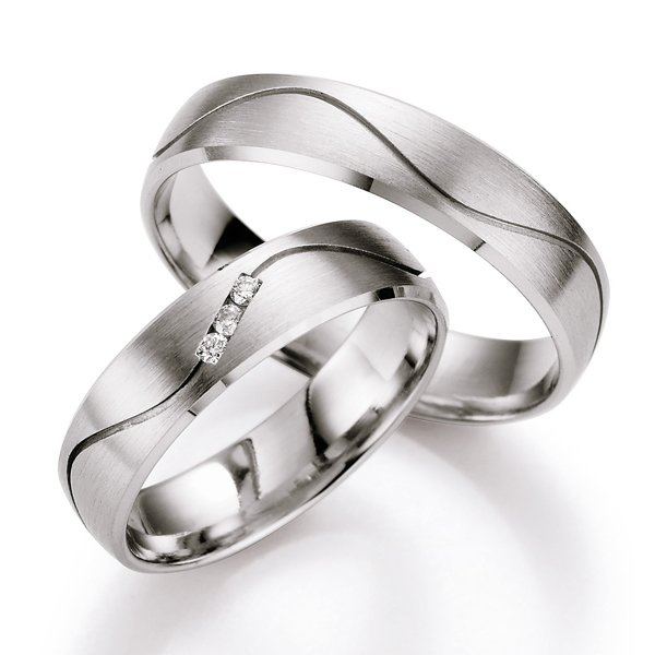 Snubní prsteny s diamantem SP-519
