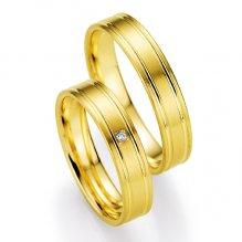 Snubní prsteny s diamantem SP-517