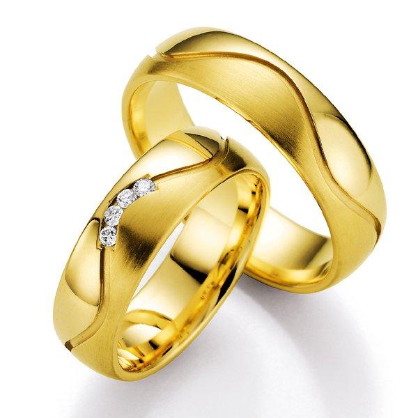 Snubní prsteny s diamantem SP525 SP525