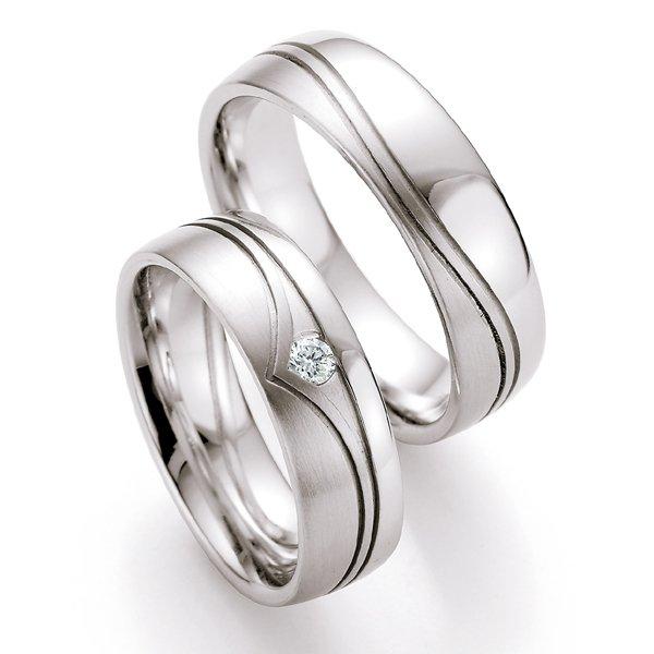 Snubní prsteny s diamantem SP520 SP520
