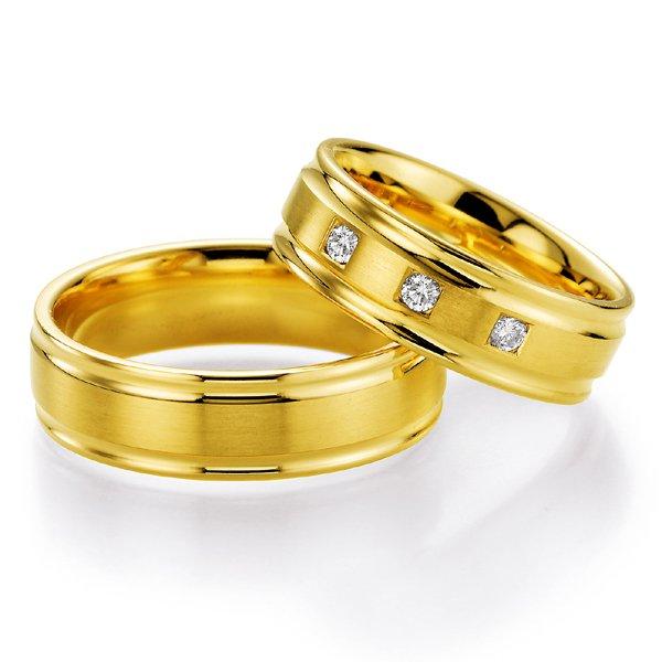 Snubní prsteny s diamantem SP521 SP521