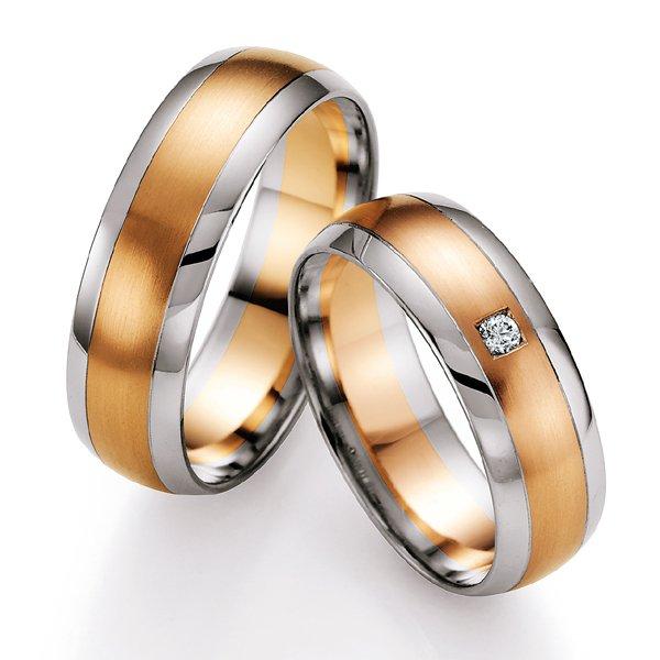 Snubní prsteny s diamantem SP701 SP701