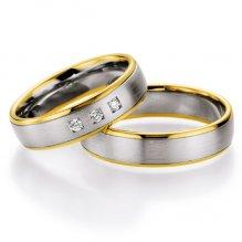 Snubní prsteny s diamanty SP703 SP703