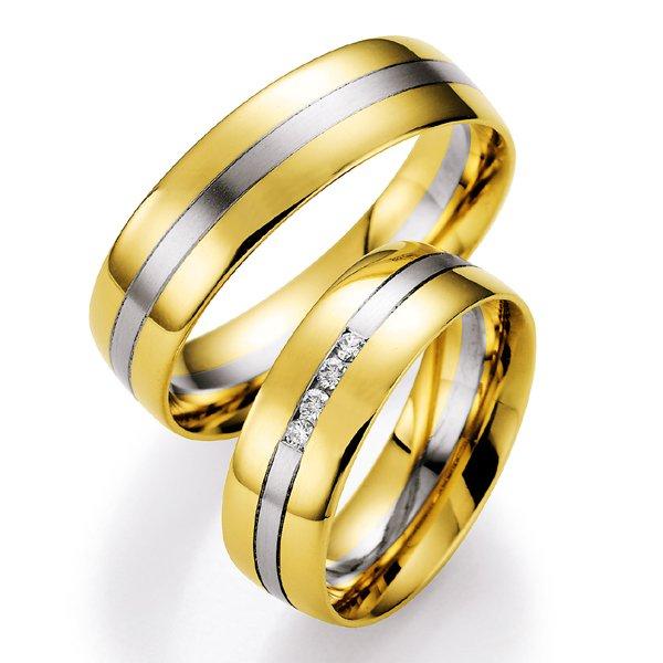 Snubní prsteny s diamanty SP700 SP700