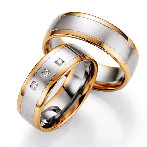 Snubní prsteny s diamantem SP704 SP704