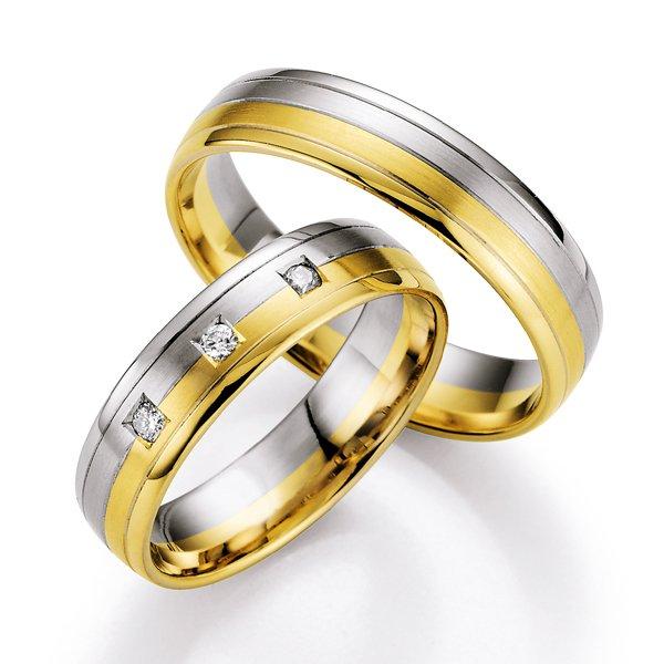Snubní prsteny s diamanty SP-718