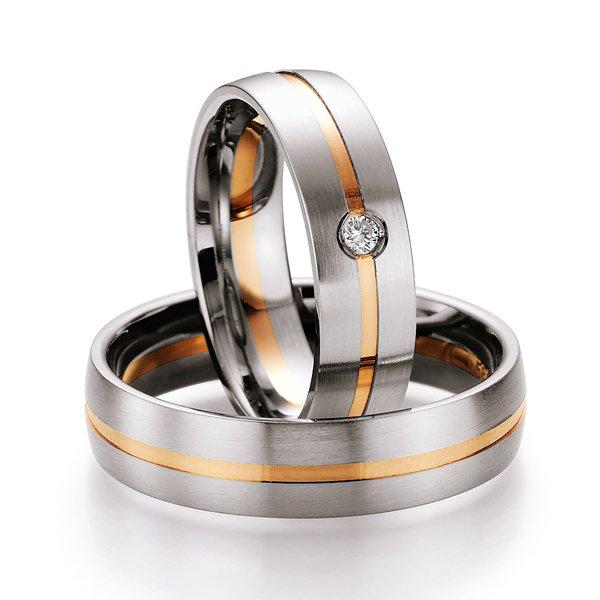 Snubní prsteny s diamantem SP-712