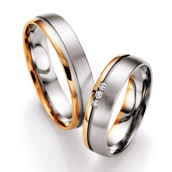 Snubní prsteny s diamanty SP-713