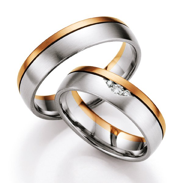 Snubní prsteny s diamanty SP-714