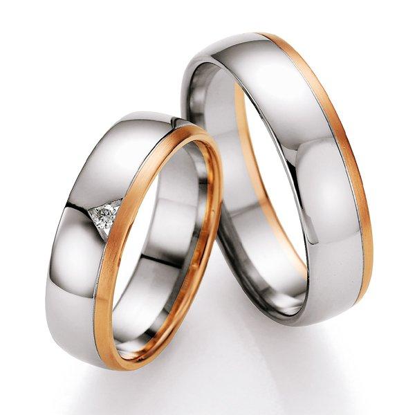 Snubní prsteny s diamantem SP717 SP717