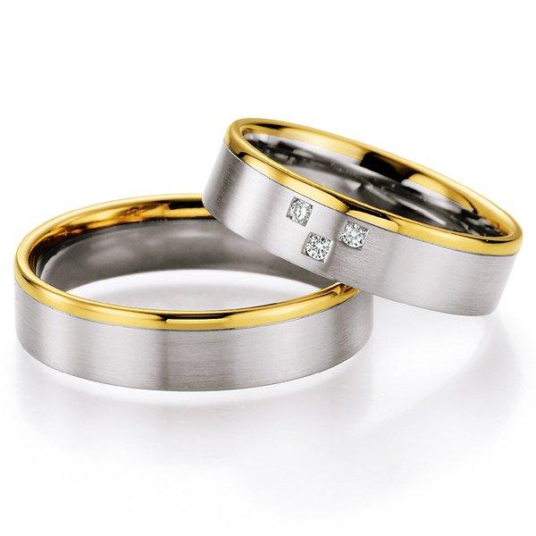 Snubní prsteny s diamanty SP-721