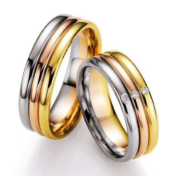 Snubní prsteny s diamanty SP722 SP722