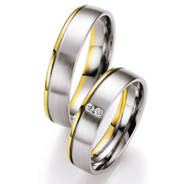 Snubní prsteny s diamanty SP-720
