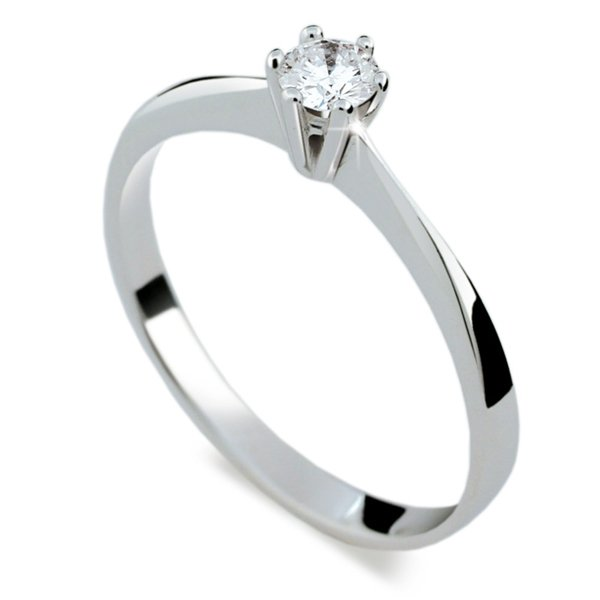 ZP1877D Zásnubní prsten s diamantem ZP1877D