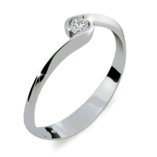 ZP1914D Zásnubní prsten s diamantem ZP1914D