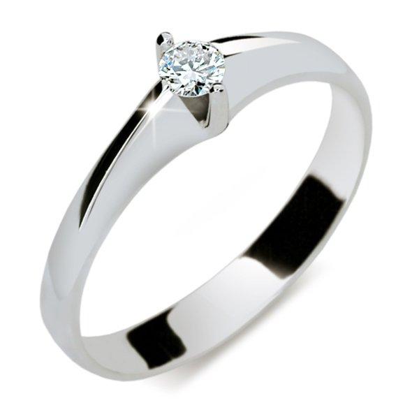 ZP1956D Zlatý zásnubní prsten s diamantem ZP1956D