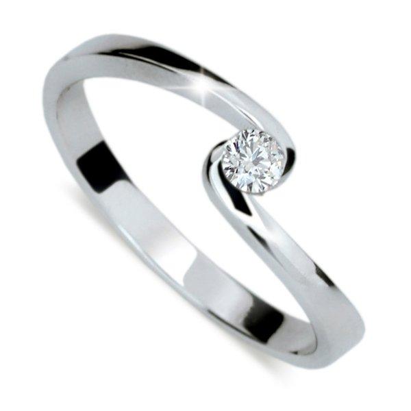Zásnubní prsten s diamantem ZP1934D