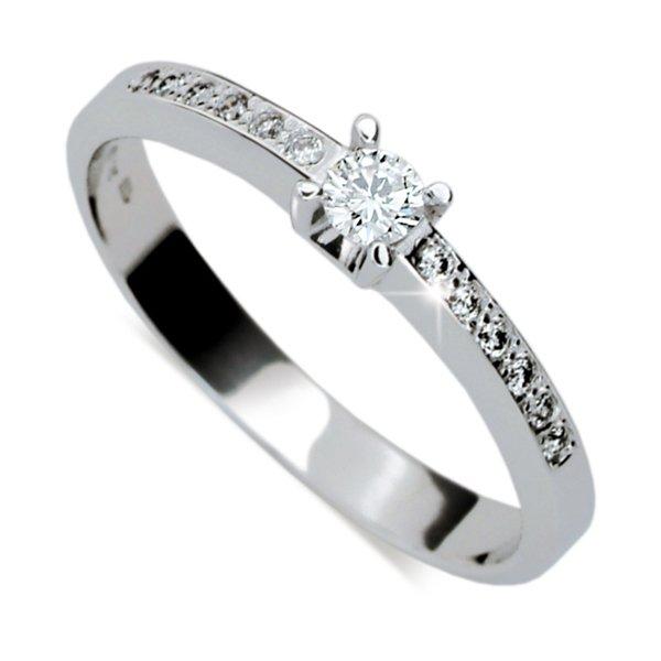 ZP1917D Zásnubní prsten s diamanty ZP1917D