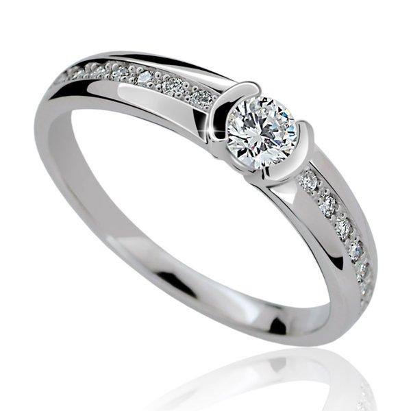 Zásnubní prsten s diamanty ZP2106D