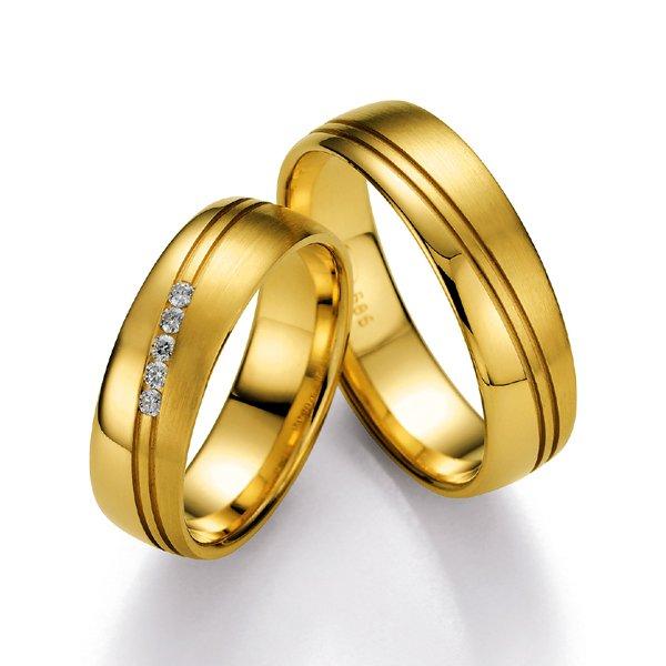 Snubní prsteny s diamanty SP500 SP500