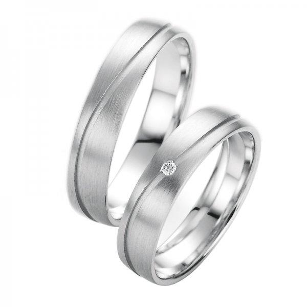 Snubní prsteny s diamantem SP-10070