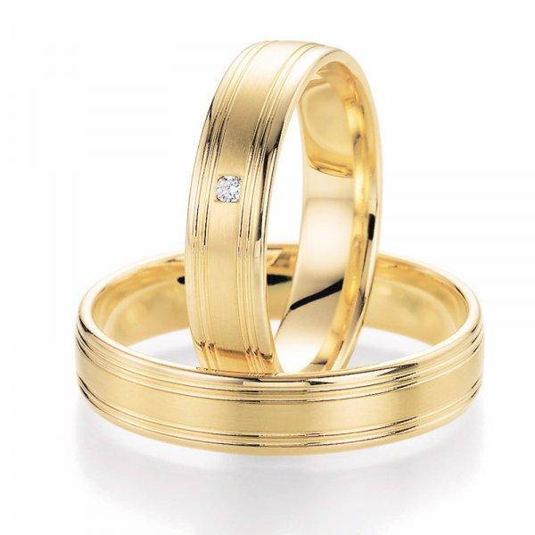 SP-10150 Snubní prsteny s diamantem SP-10150