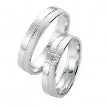 Snubní prsteny s diamantem SP-10050