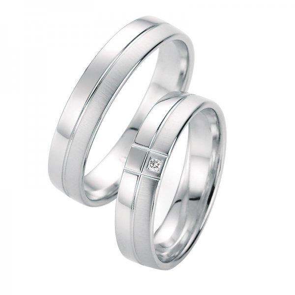 SP-10050 Snubní prsteny s diamantem SP-10050
