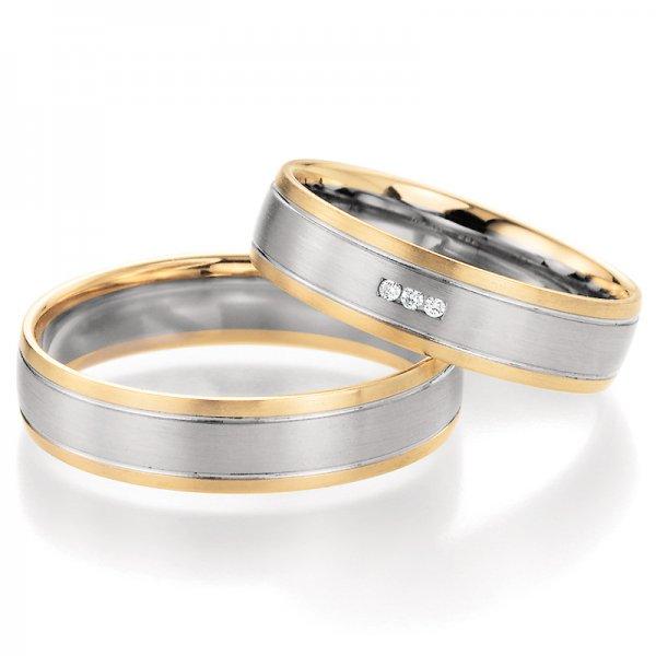 SP-10270 Snubní prsteny s diamanty SP-10270