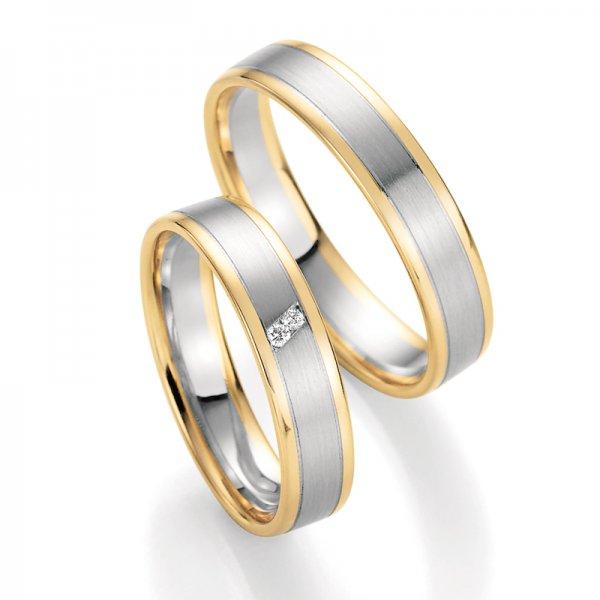 SP-10320 Snubní prsteny s diamanty SP-10320