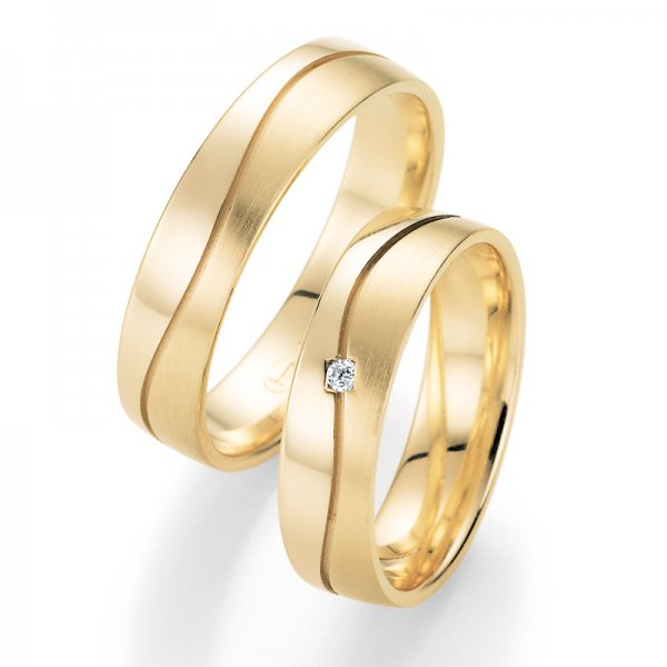 Snubní prsteny s diamantem SP-10170