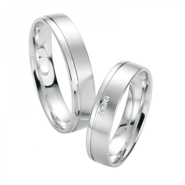 Snubní prsteny s diamanty SP-10110