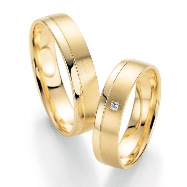 Snubní prsteny s diamantem SP-10210