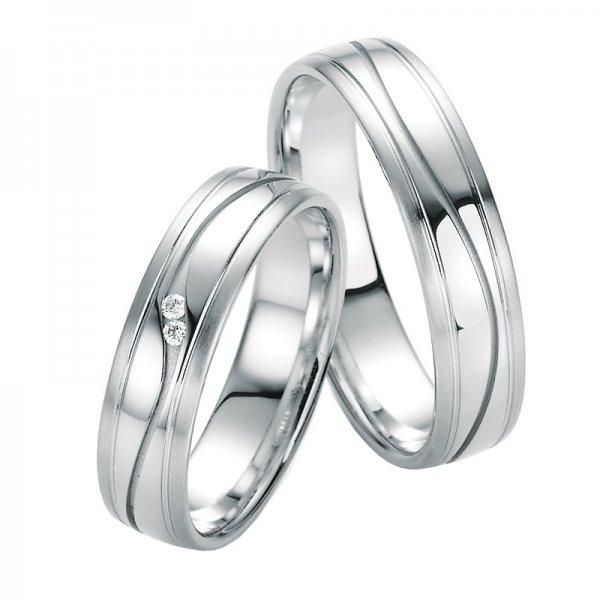 Snubní prsteny s diamanty SP-10010