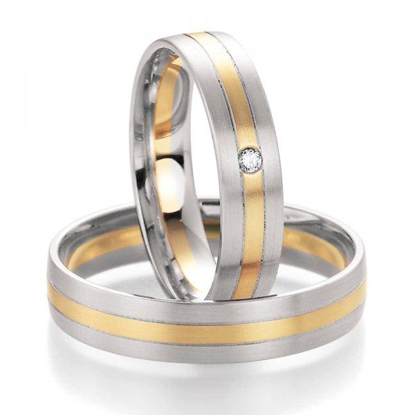 SP-10250 Snubní prsteny s diamantem SP-10250