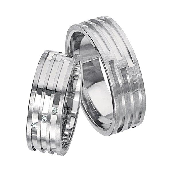 Ocelové snubní prsteny SPTS139