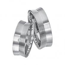 Snubní prsteny z chirurgické oceli SPTS137