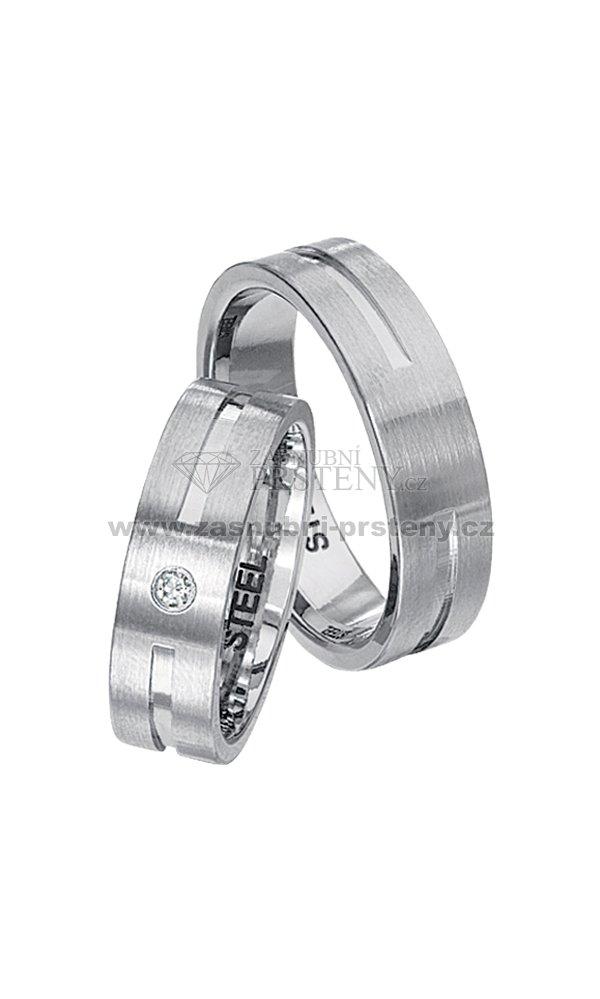 Snubni Prsteny Z Chirurgicke Oceli Spts144 Zasnubni Prsteny Cz