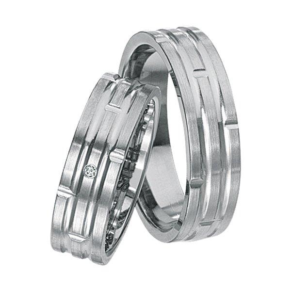 Snubní prsteny z chirurgické oceli SPTS135