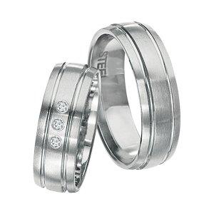Snubní prsteny z chirurgické oceli SPTS146
